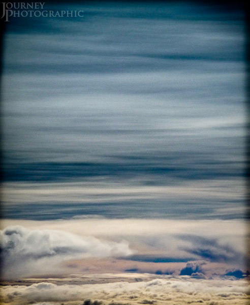 Picture of clouds at 30,000 ft