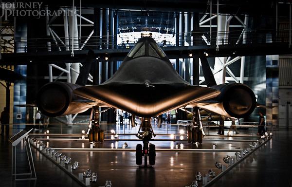 Picture of the SR-71 Blackbird at the National Air and Space Museum, Washington D.C.