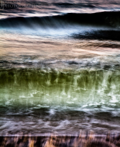 Abstract colour picture of seascape, Florida