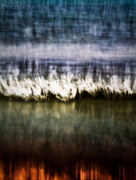 Abstract colour picture of the seascape, Florida, USA