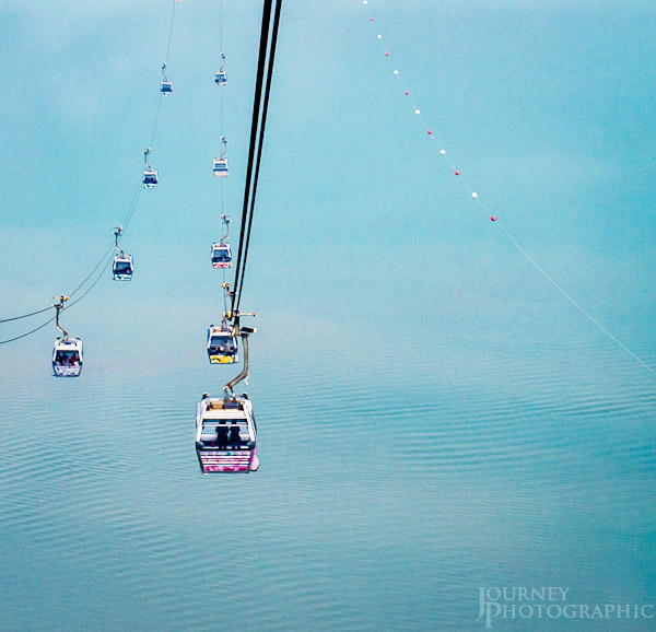 Picture of the Ngong Ping Cable Car, Lantau Island, Hong Kong