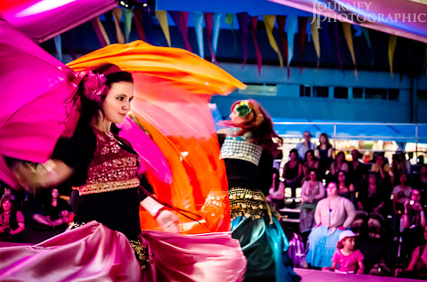Picture of Tabla Bellydance performing at the National Folk Festival, Canberra, Australia