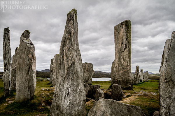Picture of the Callanish Standing Stones, Lewis, Scotland