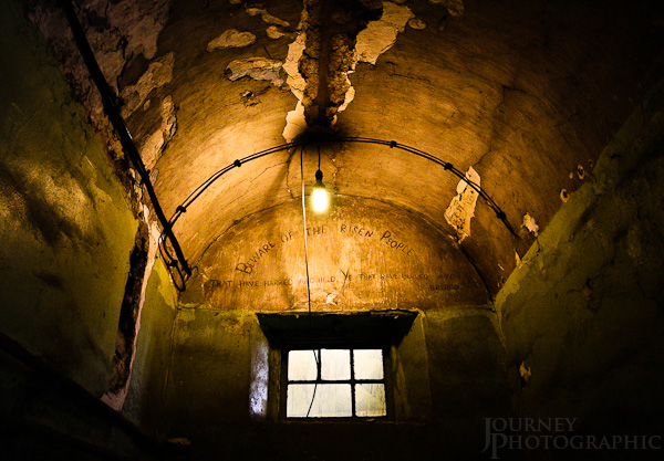 "Picture of Kilmainham Gaol ""Beware the risen people"", Dublin, Ireland"