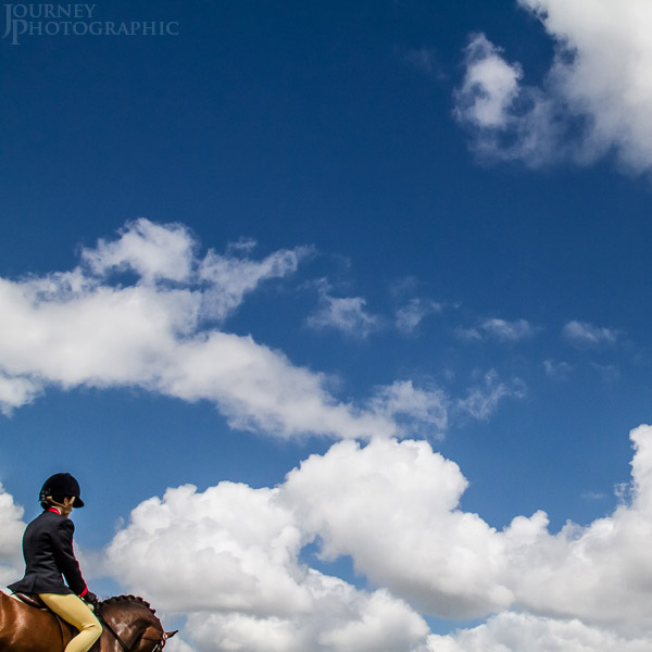 Picture of hacking class, bowral horse show, New South Wales